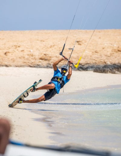 Kite Safari experience in the Red Sea of Egypt