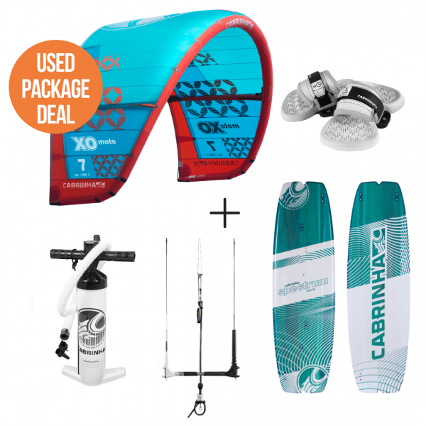 Cabrinha XO moto Package Deal