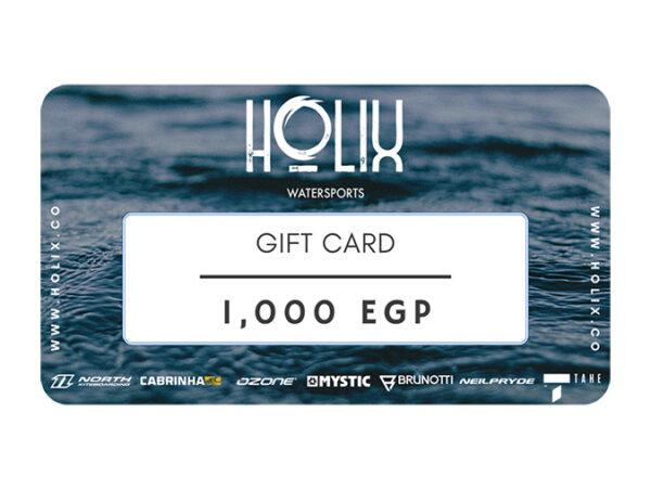 kitesurfing Egypt gift card